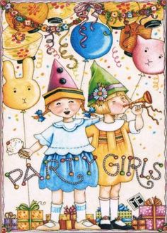 party girls by Mary Engelbreit
