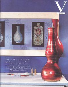 Oriental Vases of Oriental, Cross Stitch, Home Decor, Lute, Punto De Cruz, Decoration Home, Room Decor, Seed Stitch, Punto Croce