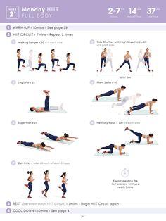 Body Boss Pretraining week 2 Monday HIIT