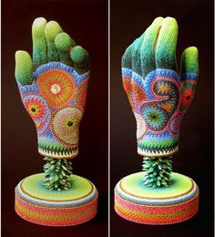 Bead Art ~ Reaching For Enlightenment by Jan Huling
