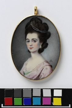 © Victoria and Albert Museum, London Portrait of an unknown woman    Object:  Miniature    Place of origin:  England, Great Britain (probably, painted)    Date:  1778 (painted)