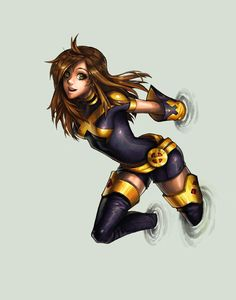 Kitty Pryde, one of my favorite X-Men Comic Book Characters, Marvel Characters, Comic Character, Comic Books Art, Female Characters, Comic Art, Fictional Characters, Hq Marvel, Marvel Dc Comics