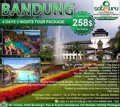 Satguru Indonesia - Travel Management Company, 19 : Hello travelers, mau liburan ke Bandung bersama kami mengunjungi beberapa lokasi wisata menarik dengan harga terjangkau dan kenyamanan bersama keluarga? 👉Hubungi kami dan pesan sekarang juga! *harga sewaktu-waktu bisa berubah. -------------------------- 💳Dapatkan diskon dan promo khusus lainnya di bulan ini. -------------------------- 🏠Hubungi kami atau kunjungi: 📍Kuningan City - Level 2 / 18  Jl. Prof. Dr. Satrio Kav.18 Jakarta.  Check…