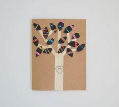 DIY Anniversary Card craft #cardcrafts