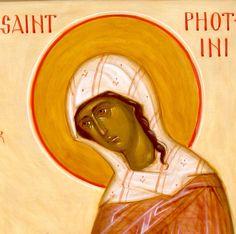 St. Photini, the Samaritan Woman by Ann Margitich