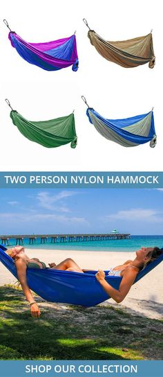 Made of high quality parachute nylon, this hammock can be set up in minutes for a quick nap in your favorite spot! Easy to clean, quick drying, and comes with a carrying case for easy transport. Available in 10 different color options! disney aulani, aulani hawaii #hawaii #familytravel #disney