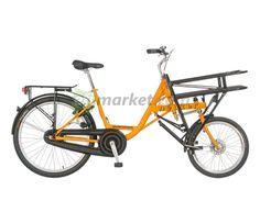 Bicicleta de transporte.