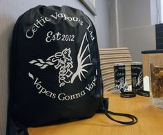 Promotional Bags, Drawstring Bags, Vaping, Parrot, Celtic, Backpacks, Friends, Things To Sell, Products