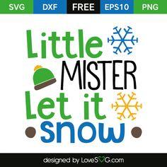 Little Mister Let it Snow