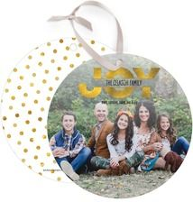 Worldly Joy Photo Holiday Cards