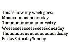 How we all basically feel. #HappyMonday #Funny