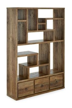 Buy Chiltern Tall Shelves from the Next UK online shop Diy Bookshelf Wall, Room Divider Shelves, Living Room Shelves, Bookcase Shelves, Shelving, Living Room Partition Design, Room Partition Designs, Living Room Tv Unit Designs, Small Apartment Interior