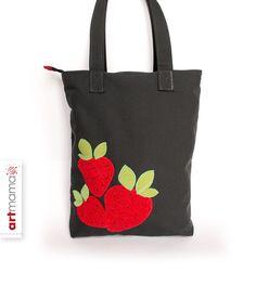 «3 Erdbeeren»  von artmama auf DaWanda.com
