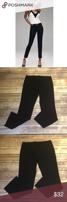 """Express Black Stretch Pants Express Black Stretch Pants. EUC. Tags say size 7/8S. Very stretchy and comfy. Inseam 28"""" Express Pants Ankle & Cropped"""