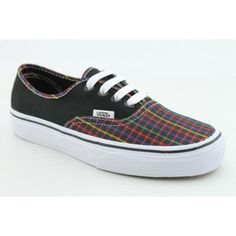 Vans Unisex VANS AUTHENTIC (RAINBOW PLAID) SKATE « Shoe Adds for your Closet