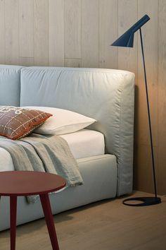 Super Softes Design Polsterbett Brick von Novamobili aus Italien. #bed #Bett #Schlafzimmer #bedroom #furniture #Möbel #inspiration #cosy #modern #einrichten #interior