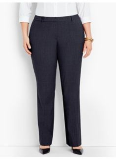 Seasonless Wool Tailored Trousers