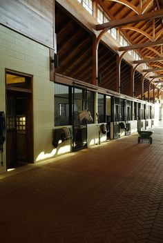The stables at Providence Hill Farm home of the MC Equestrian Program