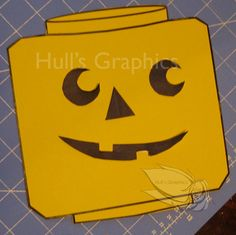 Pumpkin Face Craft PDF by cahull2011 on Etsy, $2.50