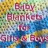 18 Free Easy Crochet Baby Blanket Patterns for Boys & Girls | AllFreeCrochetAfghanPatterns.com