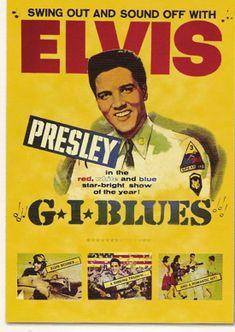 GI Blues    Elvis Movie #5  Paramount   1960 #ElvisSerendipity #Elvis #Presley the King of Rock and Roll