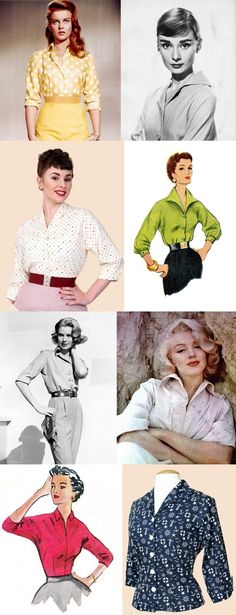 1950s vivien of holloway raglan blouse inspired by Marilyn Monroe, Audrey Hepburn, Grace Kelly and Ann Margret