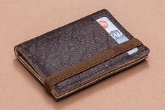 Beautiful mens leather wallet