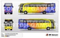 #indonesia #bus #livery #design