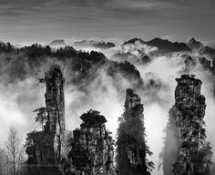 Four  Brothers  in the Mist by ThierryBornier #Landscapes #Landscapephotography #Nature #Travel #photography #pictureoftheday #photooftheday #photooftheweek #trending #trendingnow #picoftheday #picoftheweek