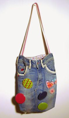 Tasche aus Lieblingsjeans / Bag made from favourite pair of jeans