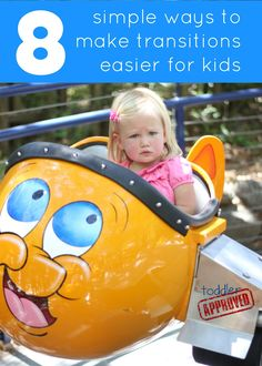 Toddler Approved!: 8 Simple Ways to Make Transitions Easier for Kids. Do your kids have a hard time transitioning between activities?   What is the hardest transition for them to make?