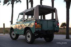 """Alfie"" 1960 Land Rover Series II 88 from Volcan 4x4"