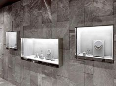 2015 IDC Winners : Image Galleries : Interior Design Competition : IIDA - Ispirazioni - The Best Jewelry Gift Ideas for the Holidays Jewellery Shop Design, Jewellery Showroom, Jewellery Display, Jewelry Designer, Gold Jewellery, Interior Design Website, Shop Interior Design, Retail Design, Showroom Design
