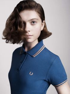 Ken Russell's iconic portraits of 1950's Teddy Girls – all boot-lace ties, drainpipes, pompadour haircuts, cigarettes and brooding attitude – provided inspiration for Richard Nicoll's first Laurel Wreath collection for Fred Perry. While the SS/11 collection might be influenced by the pseudo-Edwardian dandiness of the era it's very much a contemporary take on an irrefutably British subculture.
