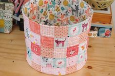 Fabric basket for sweet little one...see more in my Instagram profile @jolana_sekyrka