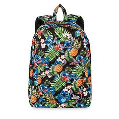 Disney Lilo and Stitch Backpack by Loungefly - the pineapples make it extra adorable!