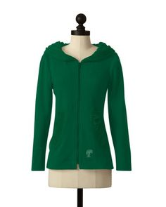 Tulane Green Wave | Hooded Comfort Jacket | meesh & mia