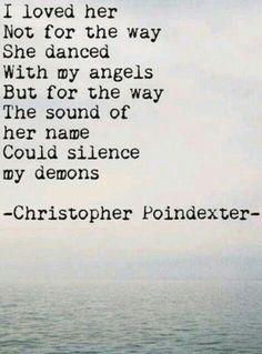 ...I knew I loved her before I let her go..