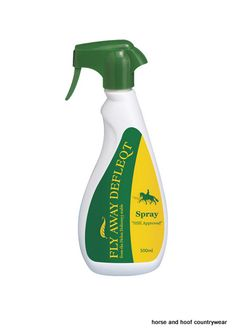 Fly Away Defleqt Fly Insect Repellent This powerful and effective natural formula ensures your horse is protected from all flying and biting insects.