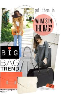 """""""Big Bag Theory"""" by reenz ❤ liked on Polyvore"""