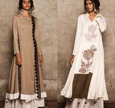 Natasha j# Hauz Khas # Pallazo love # Indian casual look # Indian fashion # beige love #