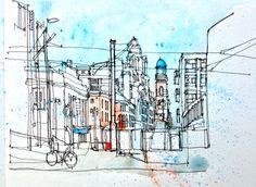 Manchester view   by simoneridyard