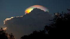 Rainbow cloud over Ethiopia