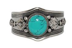 Turquoise Cuff Bracelet - Yaslai - 1