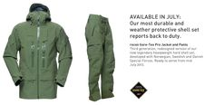 Recon Gore-Tex Pro Jacket and Pants -     Developed with Norwegian, Swedish and Danish Special Forces