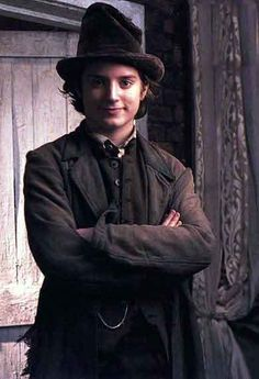 ahhh.... my first love. saw oliver twist as a kid and fell madly in love with elijah wood as the artful dodger. normal? probably not.