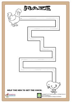 maze worksheet for kids Shape Worksheets For Preschool, Nursery Worksheets, Mazes For Kids, Shapes Worksheets, Kindergarten Math Worksheets, Daycare Curriculum, Creative Activities For Kids, Preschool Learning Activities, Vocabulary Activities