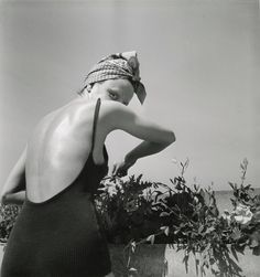 Jacques Henri Lartigue, Coco on the terrace, Neuilly, June 1938