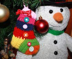 AmiguruMIN:+Christmas+sock+ornament