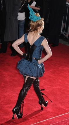 WHAT WAS SHE WEARING! Madonna at the Costume Institute Gala!